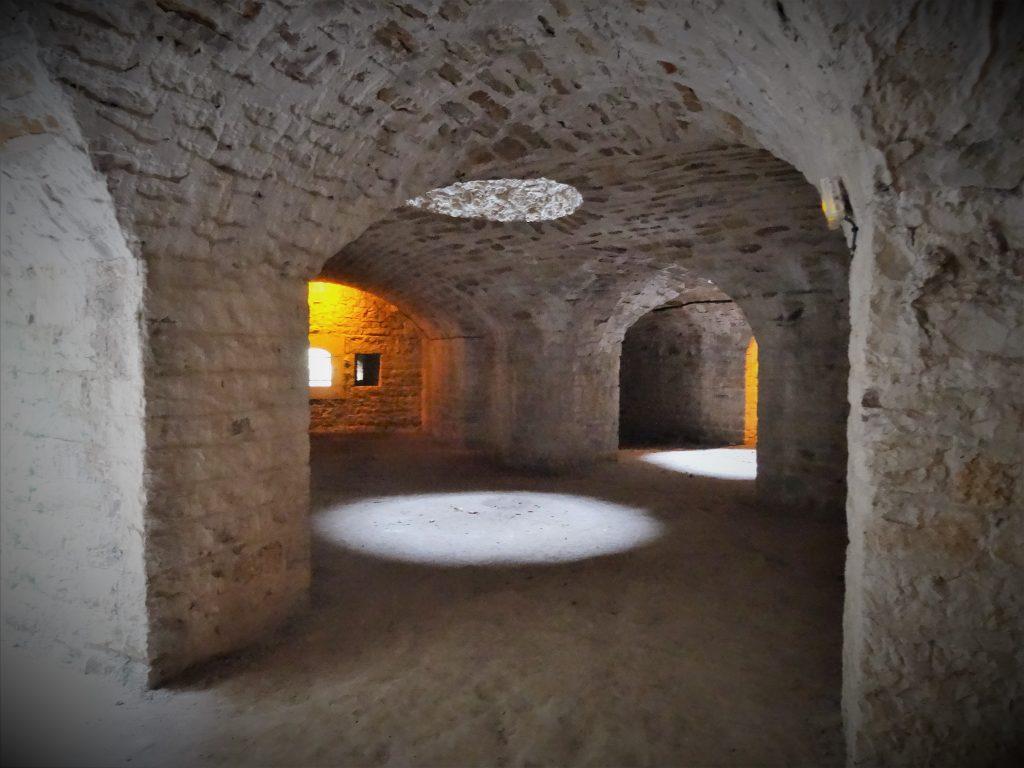 La double caponnière du Fort de Bron