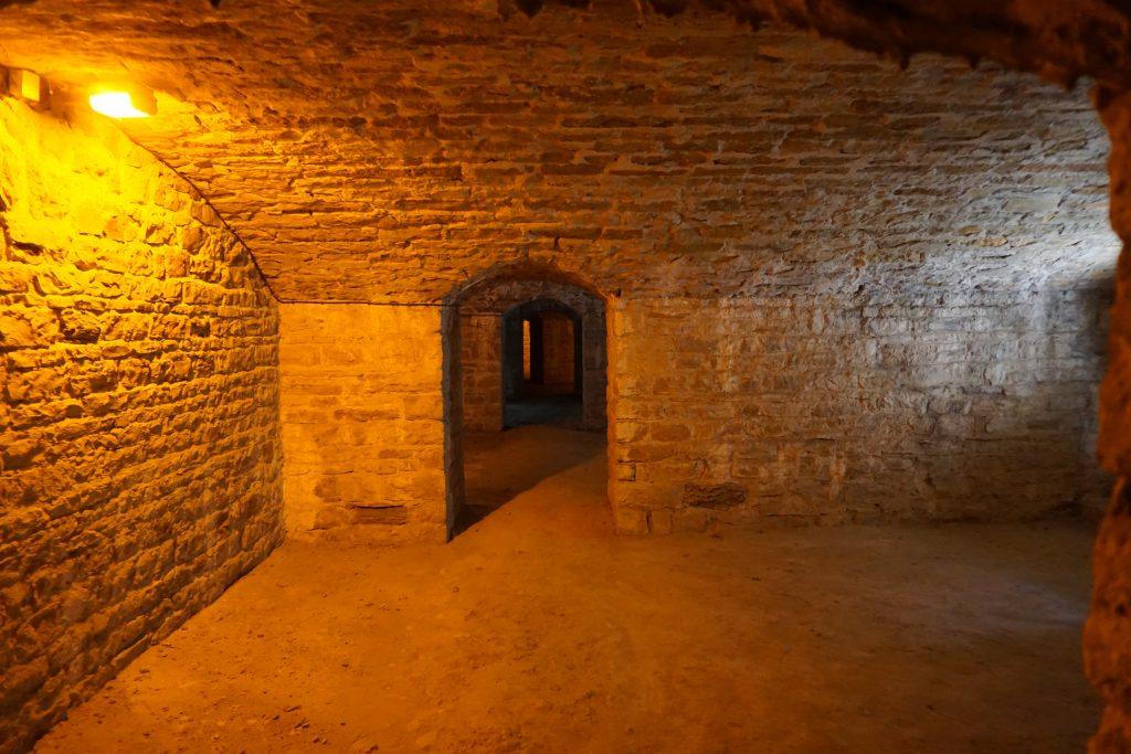 Galerie de fusillade de la double caponnière du fort de Bron