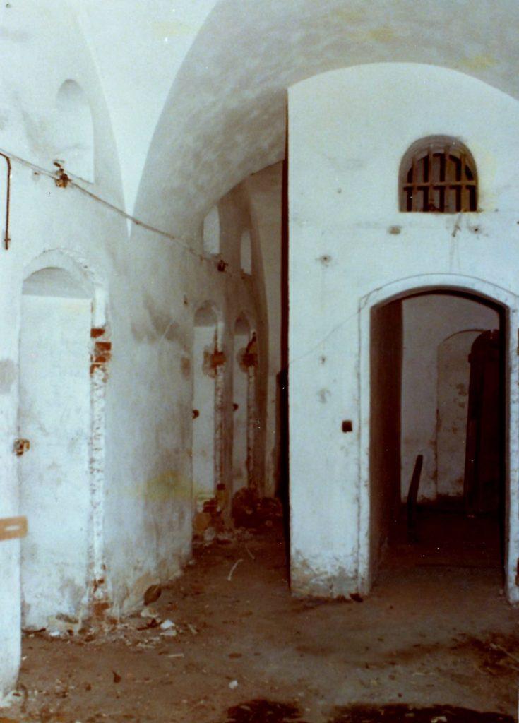 Les locaux disciplinaires en 1978.