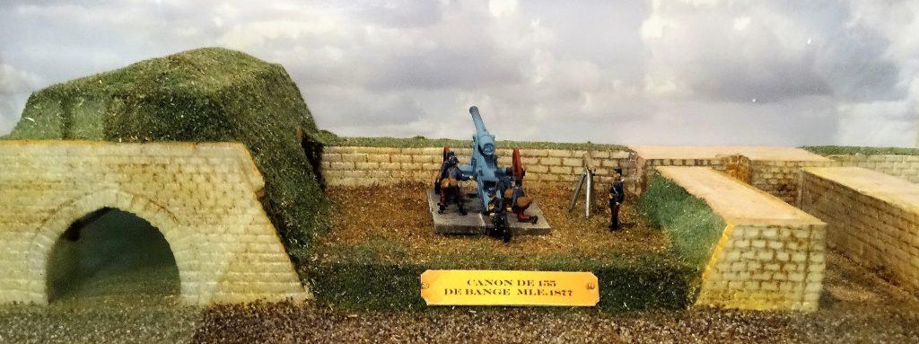 Maquette du Musée de l'Association du Fort de Bron